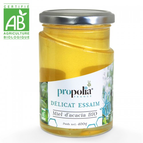 Organic Acacia Honey 400g