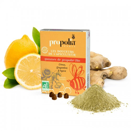 Propolis Lozenges • Ginger